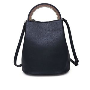 Urban Expressions Black Bernadette handbag